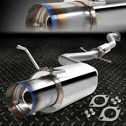 Stainless Cat Back Exhaust 4burnt Tip Muffler For 01-05 Is300 Altezza 2jz-ge