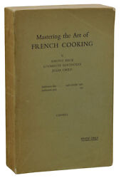 Mastering The Art Of French Cooking Julia Child Advance Proof First Uk Edition