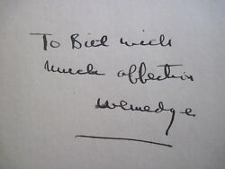 FOR WHOM THE BELL TOLLS - SIGNED BY ERNEST HEMINGWAY USING HIS YOUTH NICKNAME