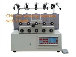 New 5 Axis Computer Cnc Automatic Coils Winder Winding Machine For Transferme Vi