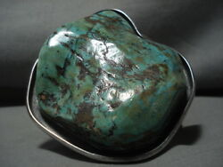 The Biggest And Best Vintage Daniel Benally 249 Grams Turquoise Silver Bracelet