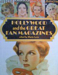 Hollywood and the Great Fan Magazines Hardback Book The Fast Free Shipping