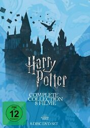 Harry Potter - Complete Collection Teil 1+2+3+4+5+6+7.1+7.2 8-dvd-box-neu