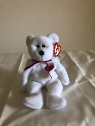 Rare Valentino 1994 Original Beanie Baby With Brown Nose Error On Tags.