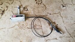 EVINRUDE SIMPLEX JOHNSON 2 HANDLE OUTBOARD CONTROL BOX 6' CABLES