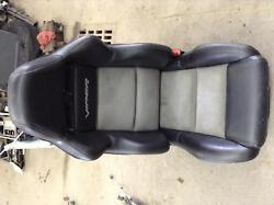 Dodge Viper Front Seat Leather Manual Grey Pass. Right Side Gen4 2008 2009 2010