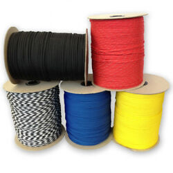 550 Paracord Type Iii 7 Strand Mil-spec Parachute Cord 250and039 300and039 1000and039 Spools
