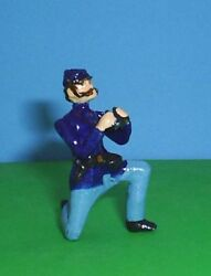 Toy Soldiers Metal Civil War Union Officer With Binoculars 54mm