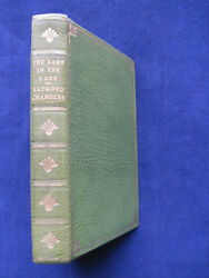 The Lady In The Lake By Raymond Chandler - Handsome Leatherbound First Edition