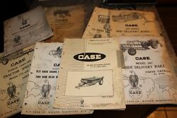 Case Tool Bar Machines Tractor Spreader Cultivator Catalog - L