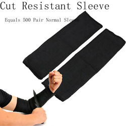 10pcs Tactical Steel Wire Cut Proof Stab Resistant Arm Bracers Armband Sleeve Us
