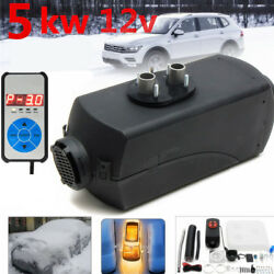 5KW 12V Air Diesel Heater 10L For Car Truck Motor-home Boat Trailer LCD Switch