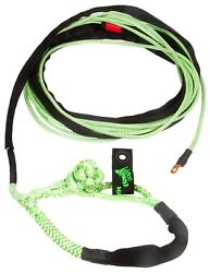 Voodoo Winch Line 3/8 X 80and039 20800 Break Strength Soft Shackle Green 1400010