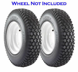 Carlisle Stud Utility Tire 2ply 4.10-5 Pack Of 2