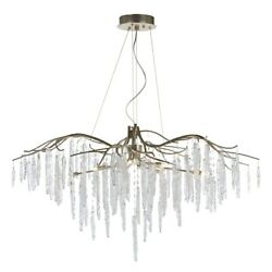 Maxim Lighting Willow 8 Light Chandelier In Silver Gold - 26286icsg