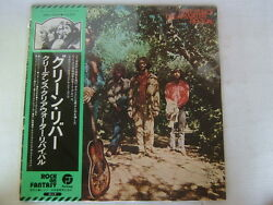 Promo White Label / Ccr Creedence Clearwater Revival Green River / With Obi