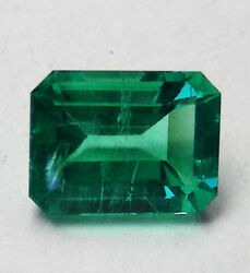 Natural Colombian Emerald 1.90ct Natural Colour +certificate Included