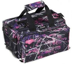 Bulldog Cases Muddy Girl Camo Range Bag Deluxe with Strap