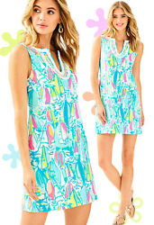 Lilly Pulitzer Harper Beach And Bae Sailboat French Terry Jersey Shift Dress $125.80