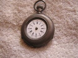 Antique Locle .800 Silver Pocket Watch