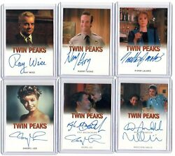 2018 Rittenhouse Twin Peaks Piper Laurie Catherine Martell Classic Autograph B