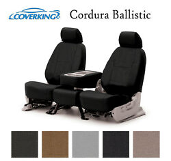 Coverking Custom Seat Covers Ballistic Canvas Front Row 5 Color Options $169.99