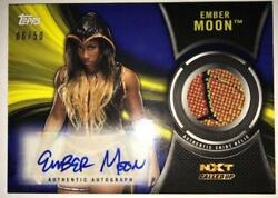 2018 Topps Wwe Nxt Autograph Shirt Relics All Sets Included Pick From List