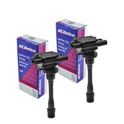 Set Of 2 Acdelco Ignition Coil Bs-c1257 For Mitsubishi Chrysler Dodge 1997-2008