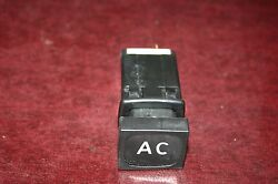 1984 And Early Classic Saab 900 Turbo Hatchback Ac Compressor On Off Switch
