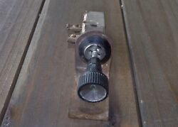 1957 Ford Convertible Top Switch With Knob And Bracket.