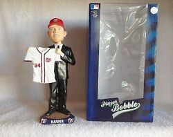 Bryce Harper 2010 1 Overall Pick Draft Day Bobblehead 2015 Nl Mvp Candidate