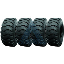 4PK  20.5X25 TIRES  20PR E3  WHEEL LOADER TIRES 20.5X25 TIRES- FOUR TIRES