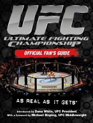 UFC The Official Fan's Guide by Anthony B Evans Book The Fast Free Shipping