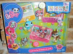Littlest Pet Shop LPS 6 Friends from Video Game 810 815 817 828 2009 great dane