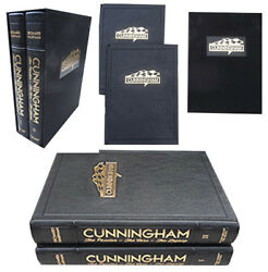 Cunningham The Passion The Cars The Legacy. Leatherbound. Richard Harman