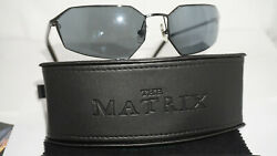 Blinde New The Matrix Agent Smith BlackBlack Sunglasses Made Japan 4040-1