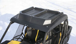 Hard Top Black 2-piece Roof For Can-am Commander 800/r 1000/r And Maverick 1000/r