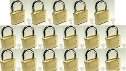 Master Lock Solid Brass V175 Lot 17 Set To Your Own Combination Padlock