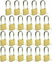 Master Lock Solid Brass 175lh Lot Of 23 Set To Your Own Combination Padlock