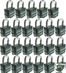 Combination Lock Set By Master 1178 Lot 23 Resettable Weather Sealed Carbide