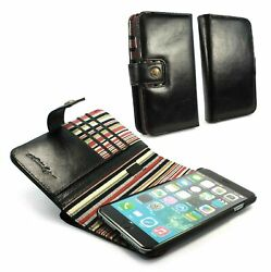 Alston Craig Alston Craig Personalised Leather Magnetic Wallet For Iphone 6 / 6s