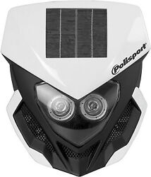 Polosport Motorcycle Lookos Headlight  White