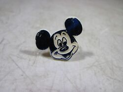Vintage 1960's 70's Mickey Mouse Plastic Ring Made In Usa Gumball Prize Cereal
