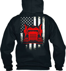 Must-have Truck Drivers America Standard College Hoodie Standard College Hoodie