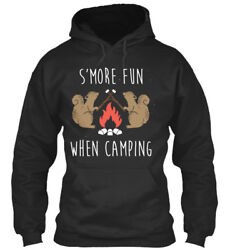 11. Smore Fun When Camping - Sand039more N/a Standard College Hoodie