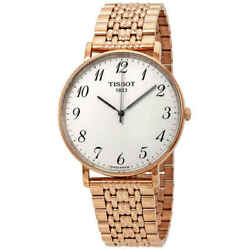 Tissot Everytime Large Silver Dial Menand039s Watch T109.610.33.032.00