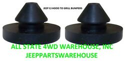 Jeep Cj 1972-1986 Hood To Grille Grommet Bumpers Pair 5455348 12029.01