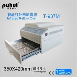 T937m New T-937m 2300w Infrared Reflow Oven Solder Lead-fress Ic Heater Puhui Ts