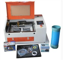 Electric Up/down Table Usb Port Co2 Laser Engraver Engraving Cutting Machine Gq