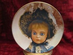 The Bru Doll Collector Plate Old French Dolls Mildred Seeley Rare
